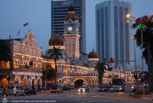 Malaysia: Die Destination Kuala Lumpur wird von KLM angefolgen