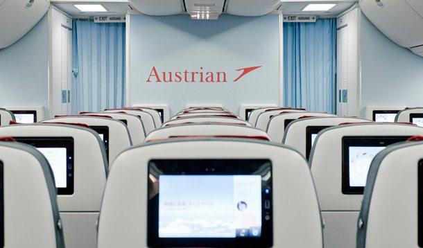 Neue Economy Kabinen bei Austrian Airlines