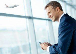 Eine aktuelle Studie von Egencia zeigt, dass Geschäftsreisen für die Mitarbeiter eine positive Erfahrung sind (Foto: Austrian)