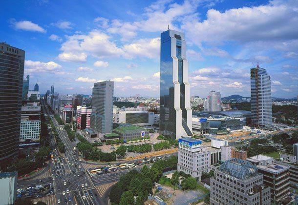 Die Skyline von Seoul610x420pix