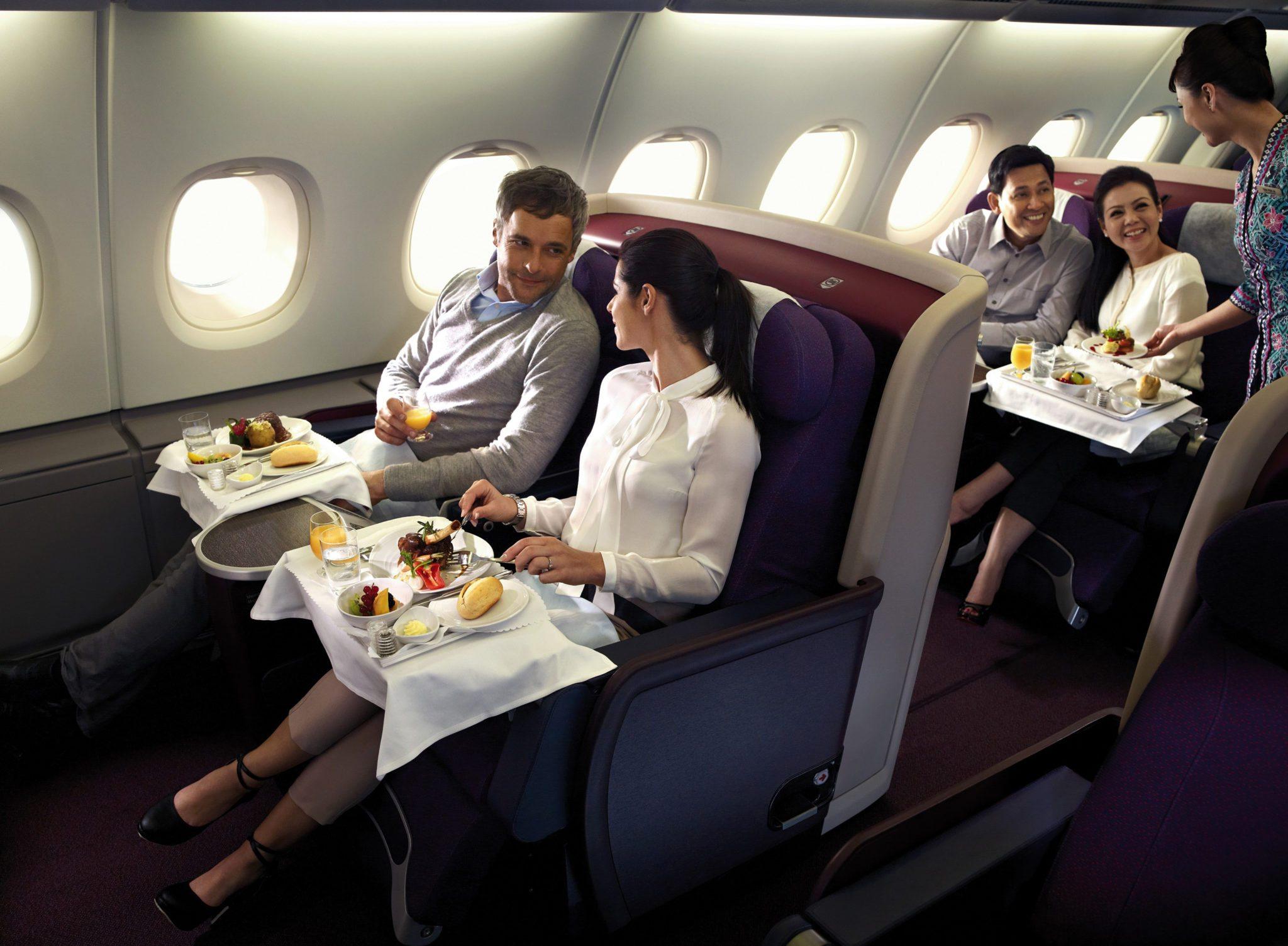 Die interkontinentalen Business-Class-Flüge sollen im kommenden Jahr wieder billiger werden (Foto: MAS)