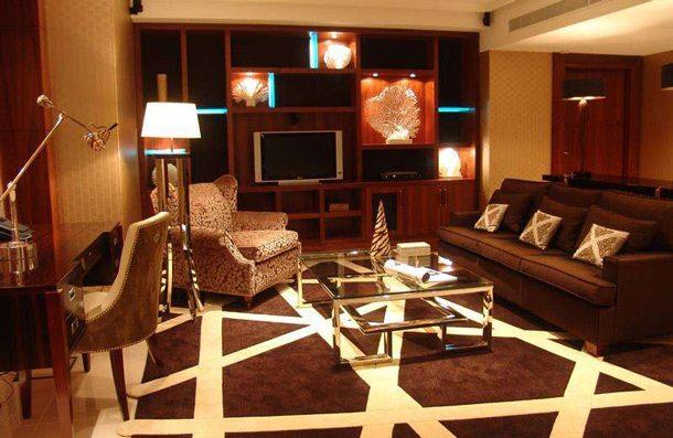 Suite im Hotel Okura Amsterdam