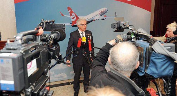 Air Berlin-CEO Wolfgang Prock-Schauer