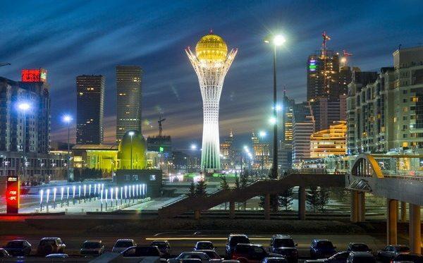 Astana: Die Hauptstadt von Kasachstan