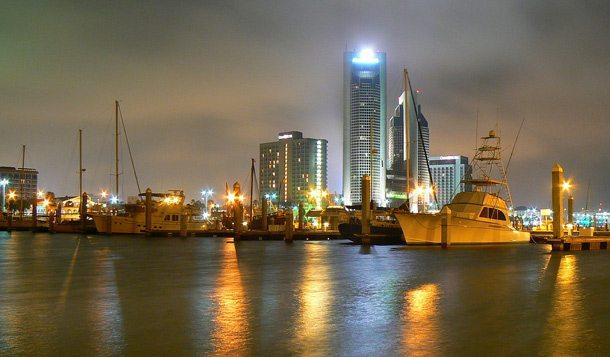 Hafen von Corpus Christi in Südtexas