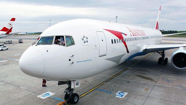 Austrian-Erstflug nach Chicago