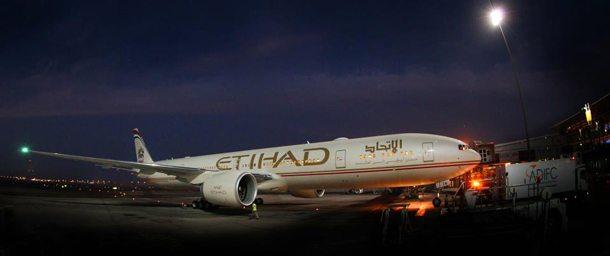 Passagierflugzeug der Etihad Airways