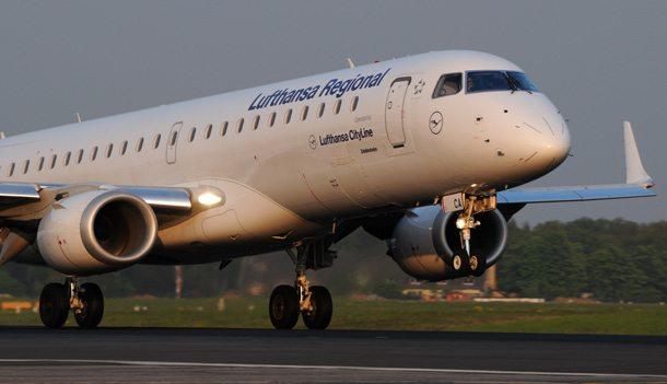 Lufthansa-Maschine beim Start