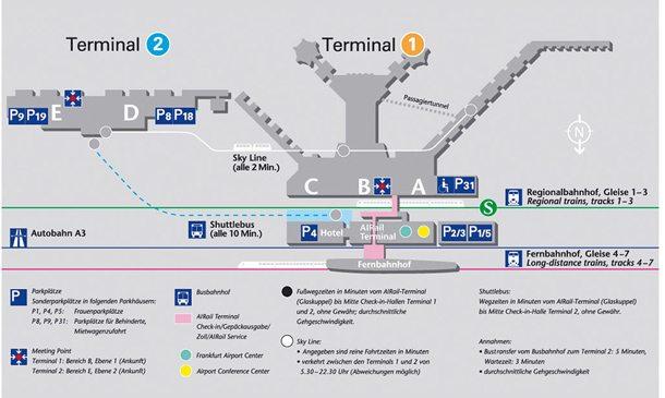 Flughafen Frankfurt: AIRail