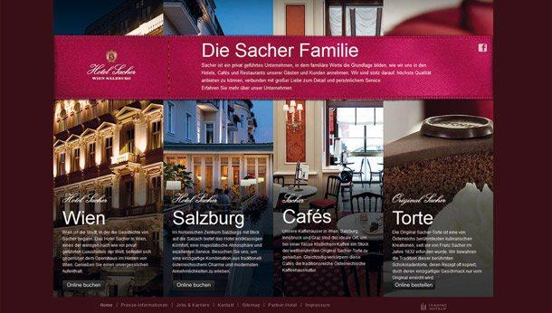 Startseite von Hotel Sacher