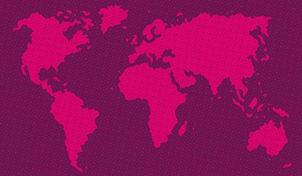 JT Weltkarte