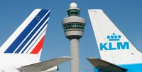 Heckflossen von Air France und KLM