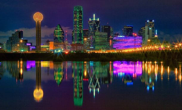 Dallas: Downtown und die Skyline