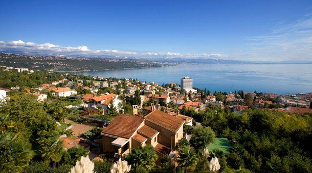Kroatien: Blick auf Opatija