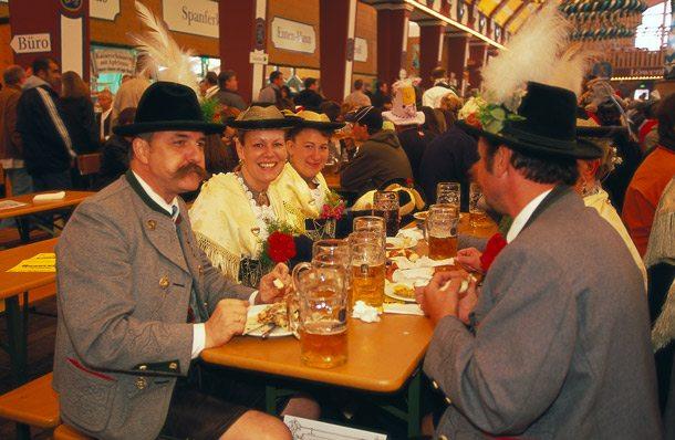Oktoberfest in Bayern