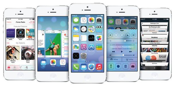 Mobil mit dem iPhone