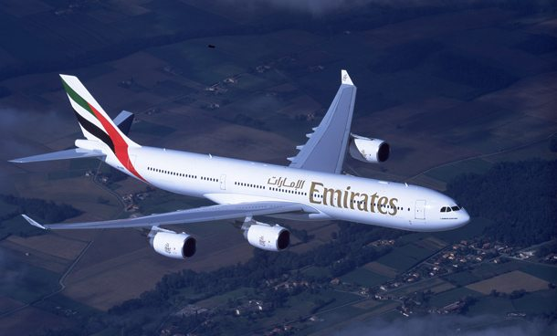 Emirates Airbus A340: 24 Destinationen in Afrika