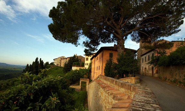 Bergdorf Castelfalfi in der Toskana
