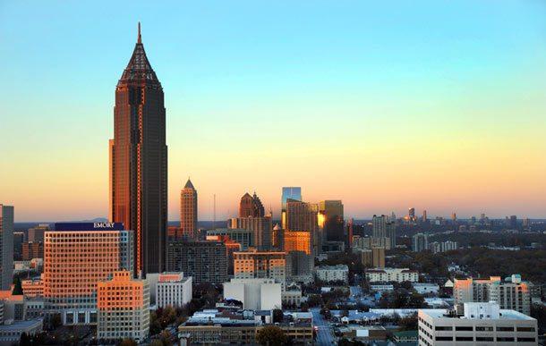 Atlanta: Hauptstadt von Georgia