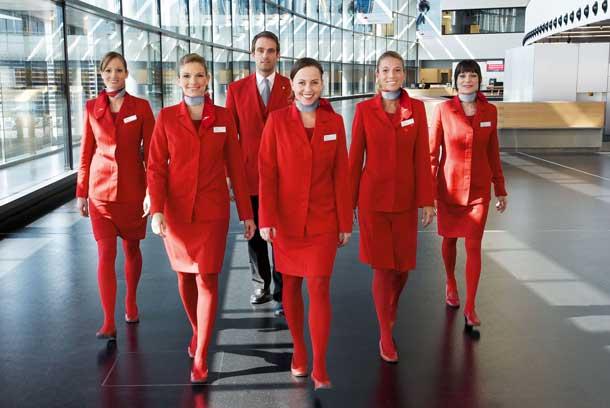 Austrian Airlines sucht fliegendes Personal