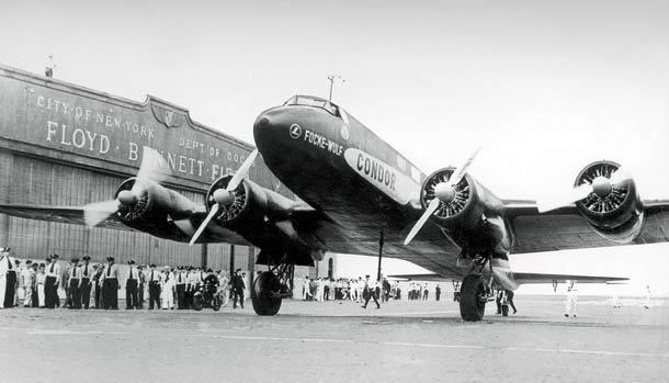 "Focke-Wulf Fw 200 ""Condor"" in New York"