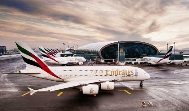 Ab 1. Juli bedient Emirates ihren Liniendienst zwischen Wien und Dubai mit einem Airbus A380