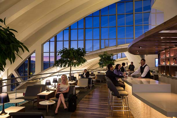 LAX: Star Alliance Lounge