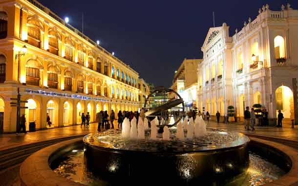 Macau: Senatsplatz in der Altstadt