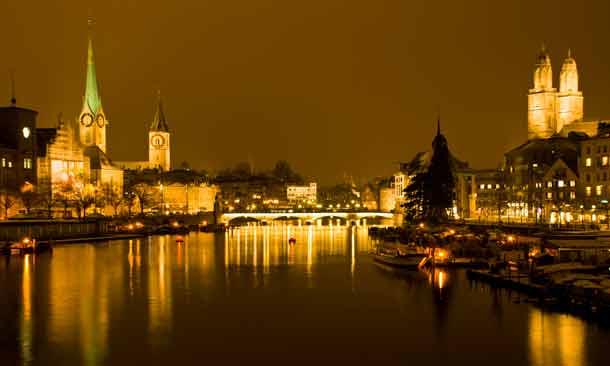 Zürich ist die Metropole der Banken