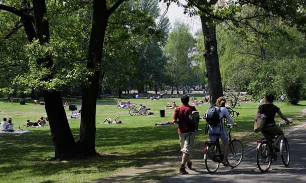 Grüne Oase Berliner Tiergarten