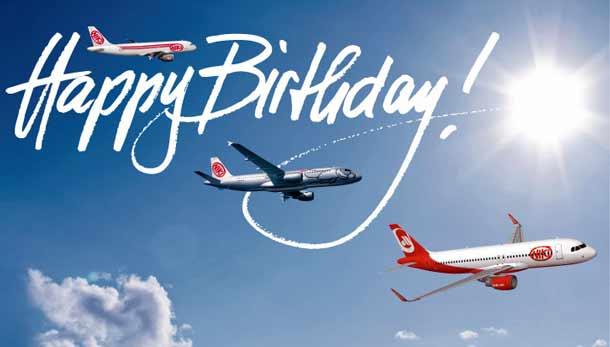 Happy Birthday NIKI: Seit 10 Jahren am Himmel unterwegs