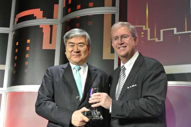 Korean Air LAEDC-Eddy-Awards für Chairman von Korean Air