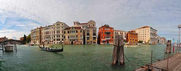 Touristenfalle Nummer 1 Canal Grande in Venedig