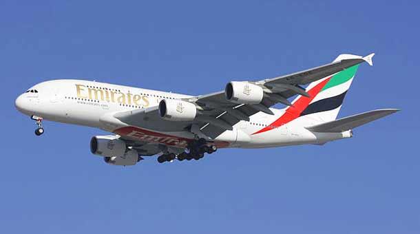 Emirates bringt ihren Airbus A380 nach Wien