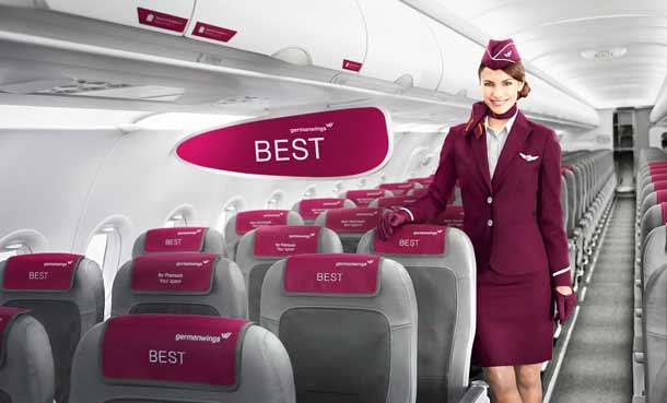 Germanwings Tarife und Extras sind über Amadeus komplett buchbar