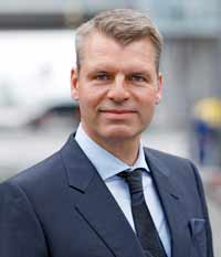 Andreas Otto, Vorstandsmitglied und CCO von Austrian Airlines