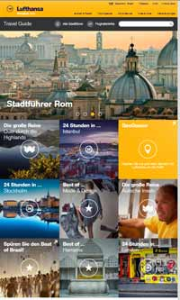 Lufthansa Online-Guide