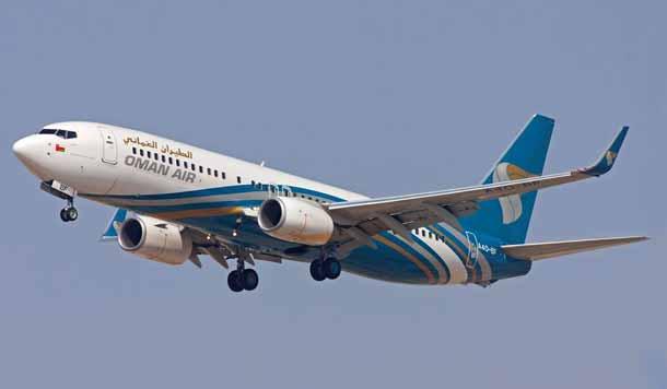 Oman-Air-B737: Mehr Flüge nach Indien