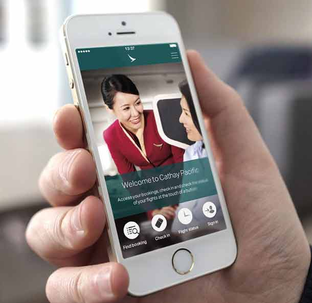 Cathay Pacific: Mobile App für Passagiere