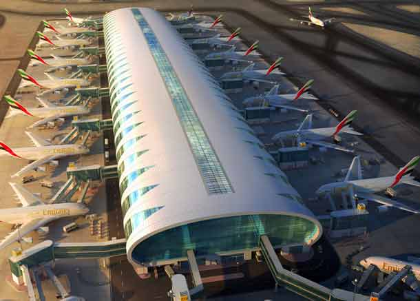 Emirates: Airport in Dubai