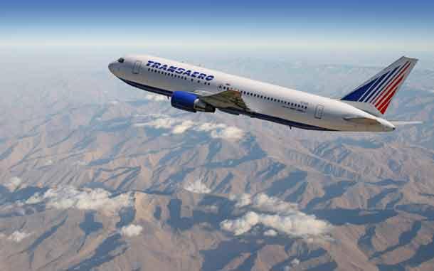 Transaero Boeing 767-1