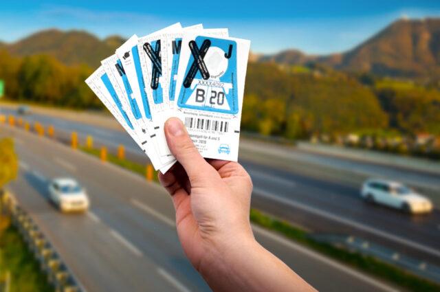 Ohne Vignette auf Österreichs Autobahnen und mautpflichtigen Straßen kann teuer werden