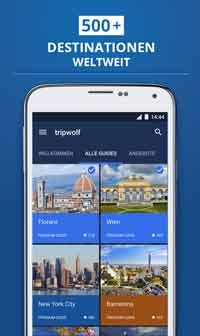 tripwolf: Redesign für Android-Smartphones