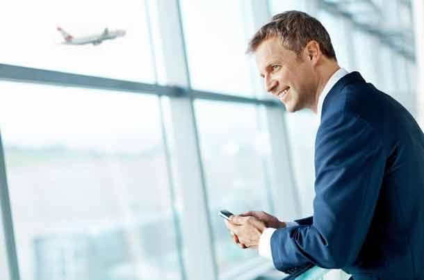 App für Geschäftsreisende