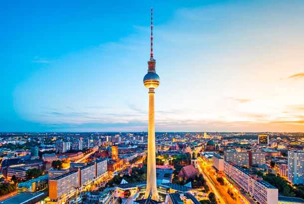 Deutschlands Hauptstadt Berlin