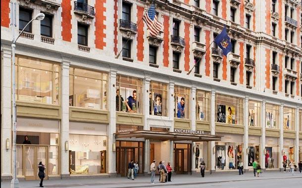 New York: Hotellegende The Knickerbocker