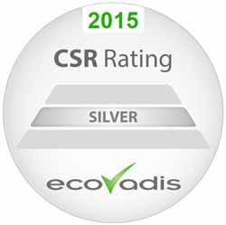 EcoVadis-Silberauszeichnung für CWT