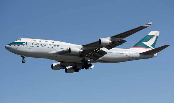 Cathay Pacific Boeing B747-412