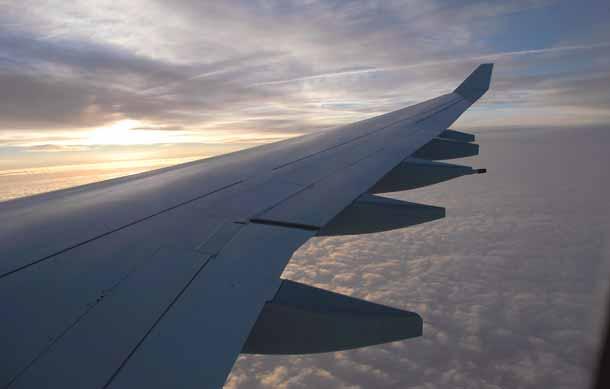 Mit dem Lufthansa Airbus A340 um die Welt fliegen