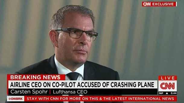 Lufthansa CEO Carsten Spohr im CNN-Exklusivinterview